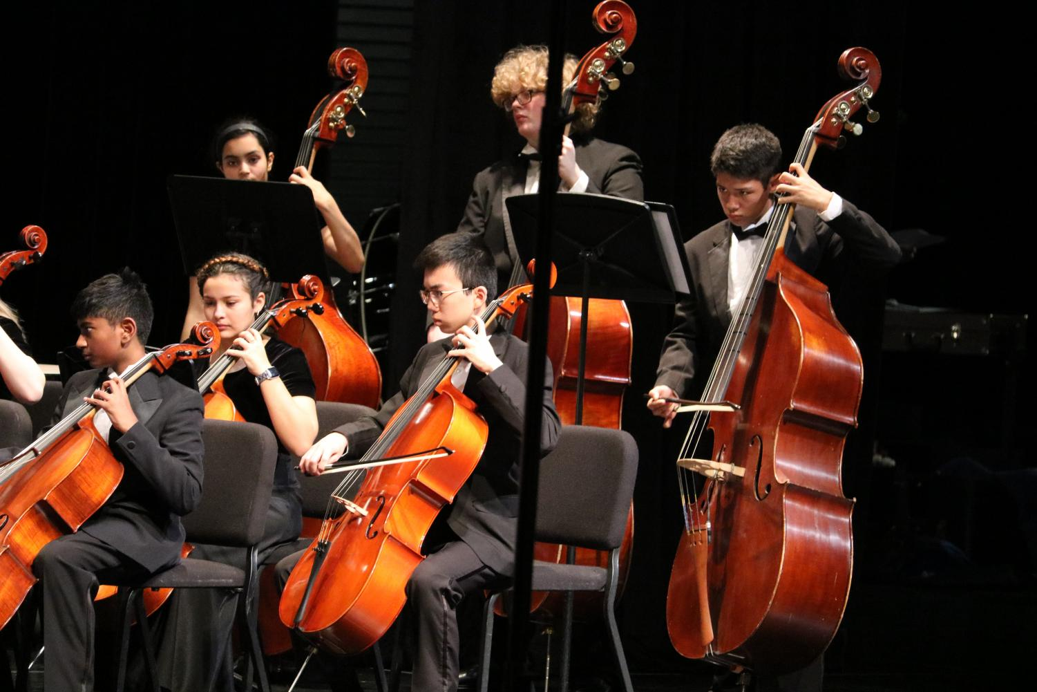 Orchestra+Students+Perform+at+Pre-UIL