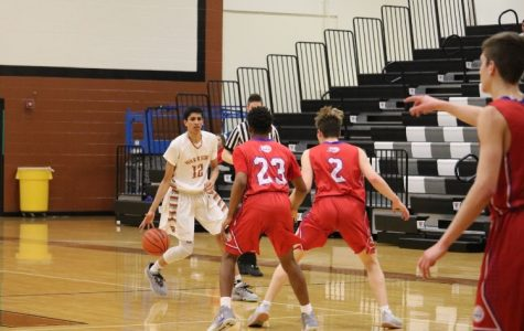 JV Boys' Basketball Subdues Leander Lions 45-30