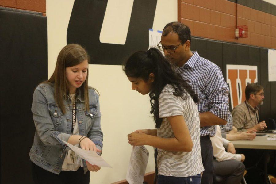 A ninth grade biology teacher answers an eighth grade students queries about the biology curriculum.
