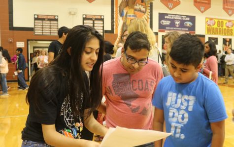 Parents Attend Informational Eighth Grade Night