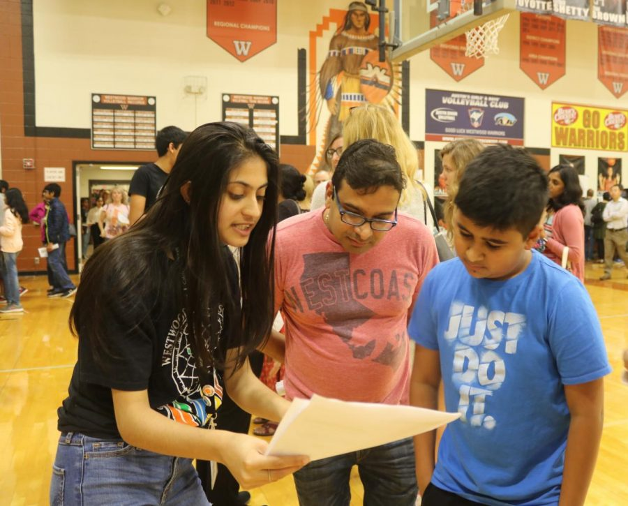 Academy Ambassador Sakshi Dhavalikar 21 helps incoming freshmen decide what their business pathway would be.