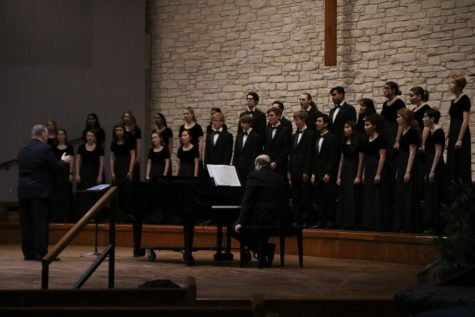 Choir Holds Pre-UIL Concert to Showcase Music
