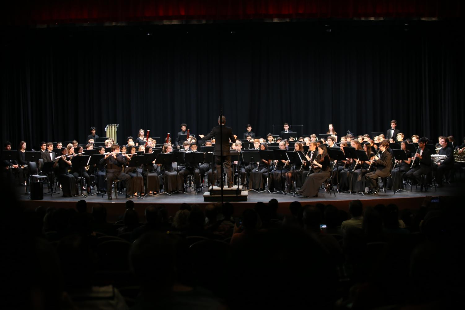 Region+26+band+students+put+on+a+concert+after+auditioning+for+band+placements.+
