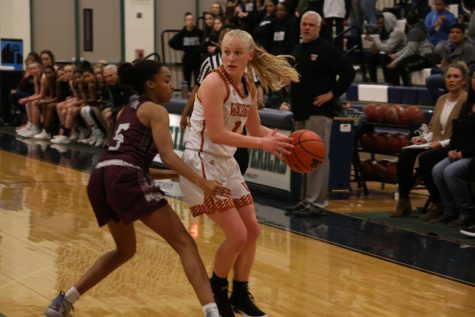 Varsity Girls' Basketball Decimates Round Rock 54-38, Moves on to Playoffs