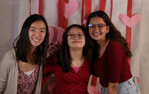 Students Attend Valentine's Day Dance