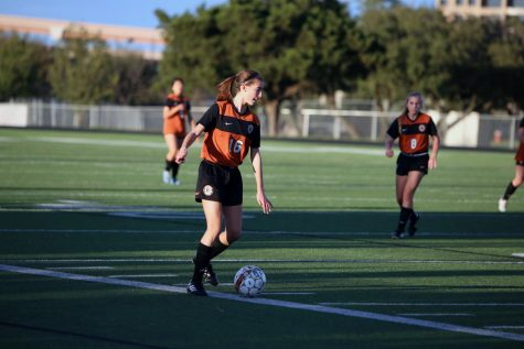 JV Girls' Soccer Beat the Tigers 3-0