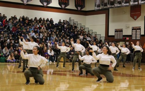 Students Attend First Pep Rally of Spring Semester
