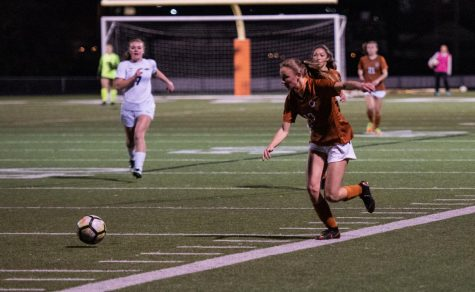 Varsity Girls' Soccer Slips to Vandegrift 2-0