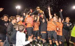 Varsity Boys' Soccer Crush Cedar Ridge 4-1, Claim Title of District Champions
