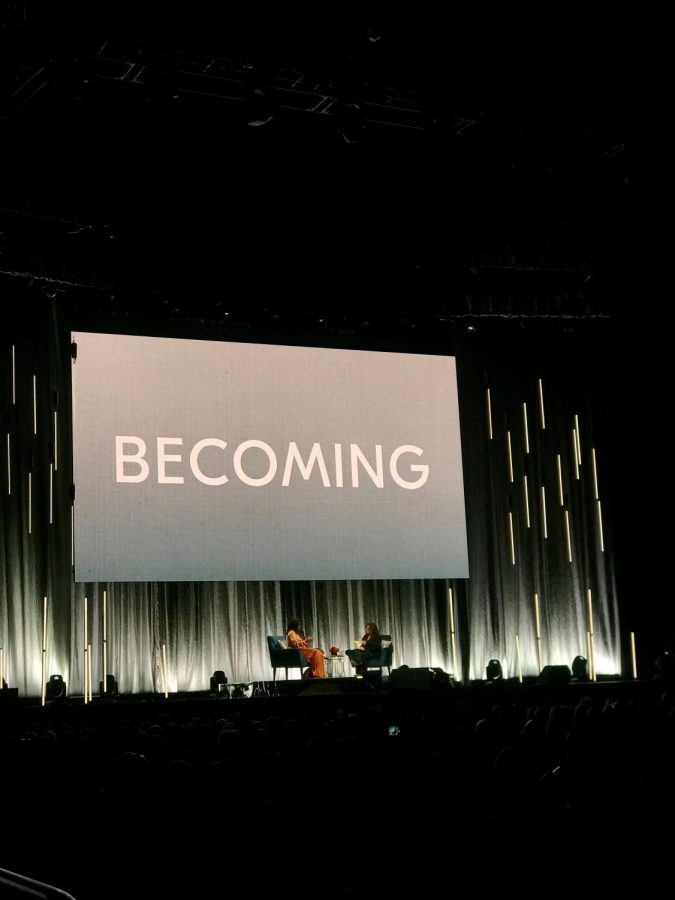 Michelle Obama discusses her new book 'Becoming'.