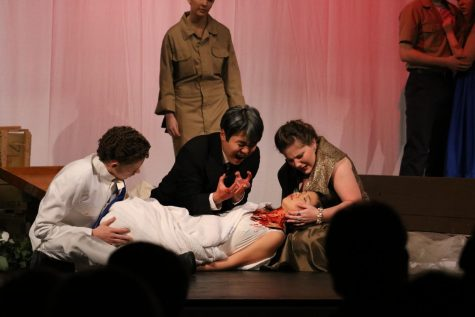 Theater Students Perform Modern Greek Tragedy for UIL