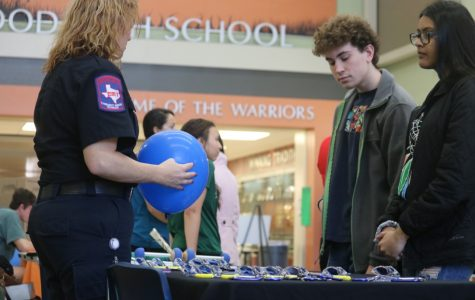Students Visit with Professionals at Health Science Career Fair