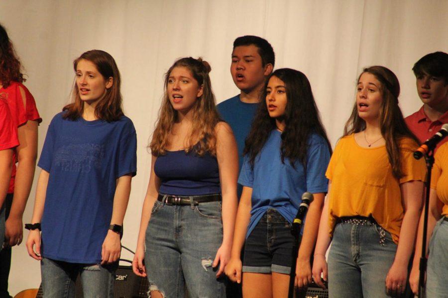 Chamber Choir sings Some Nights by Fun.