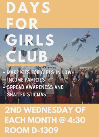 New Club Days For Girls Holds First Meeting