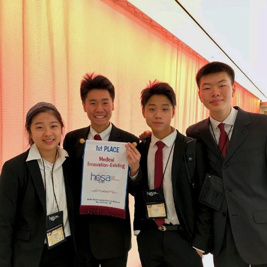 HOSA Students Compete at State