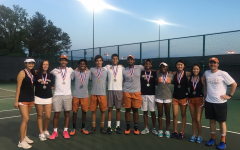 Varsity Tennis Clinches Seven Region Spots at Districts