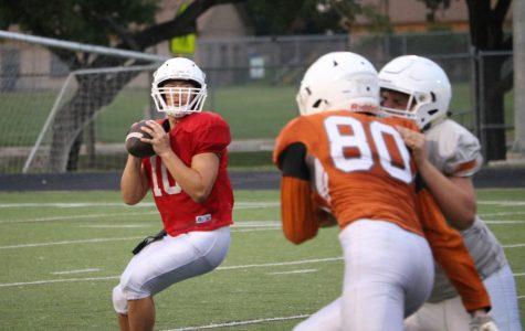 Varsity Football Competes in Spring Game