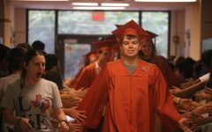 Seniors Participate In Senior Walks In Elementary and Middle Schools