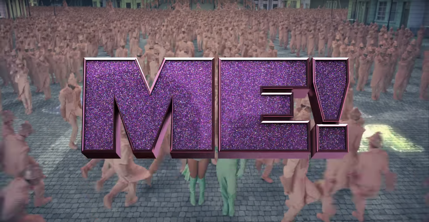 Taylor Swift's new single 'ME!' encapsulates musical vibes with the upbeat and colorful music video.