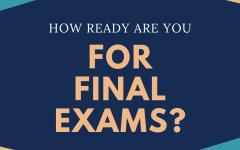 How prepared are you for your final exams?