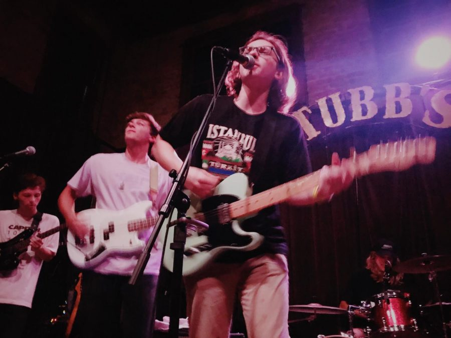 Hall Johnson energetically performs at Stubb's BBQ.