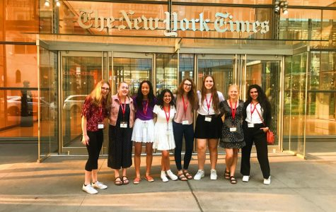 Student Keana Saberi '22 Explores Journalism in New York