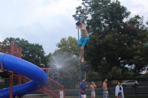 Orchestra Students Dive Into New Year with Pool Party