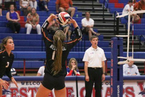 Varsity Volleyball Destroys Westlake 3-0