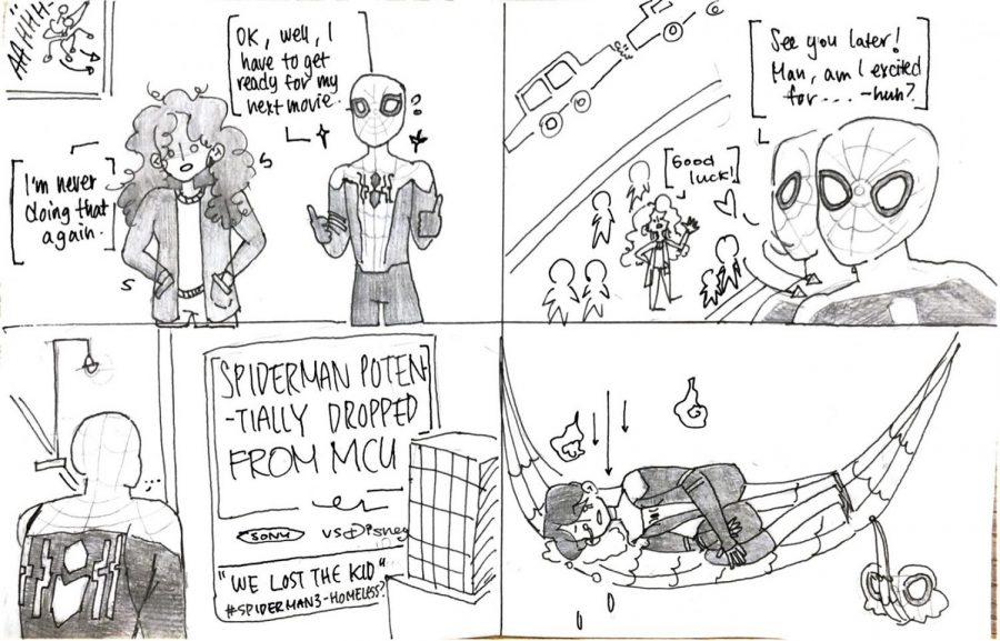 Comic: 'Spider-Man: Homeless'