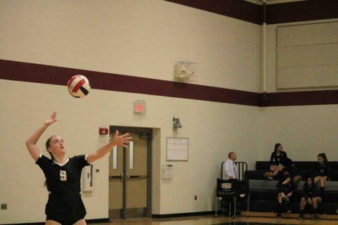 JV White Volleyball Crushes Hendrickson 2-0