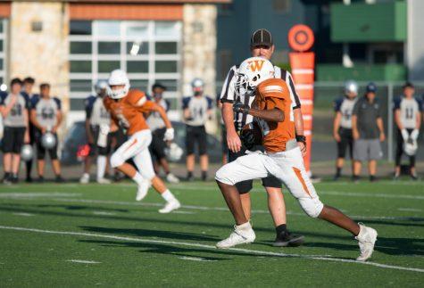 JV Football Splits Games Against Hendrickson