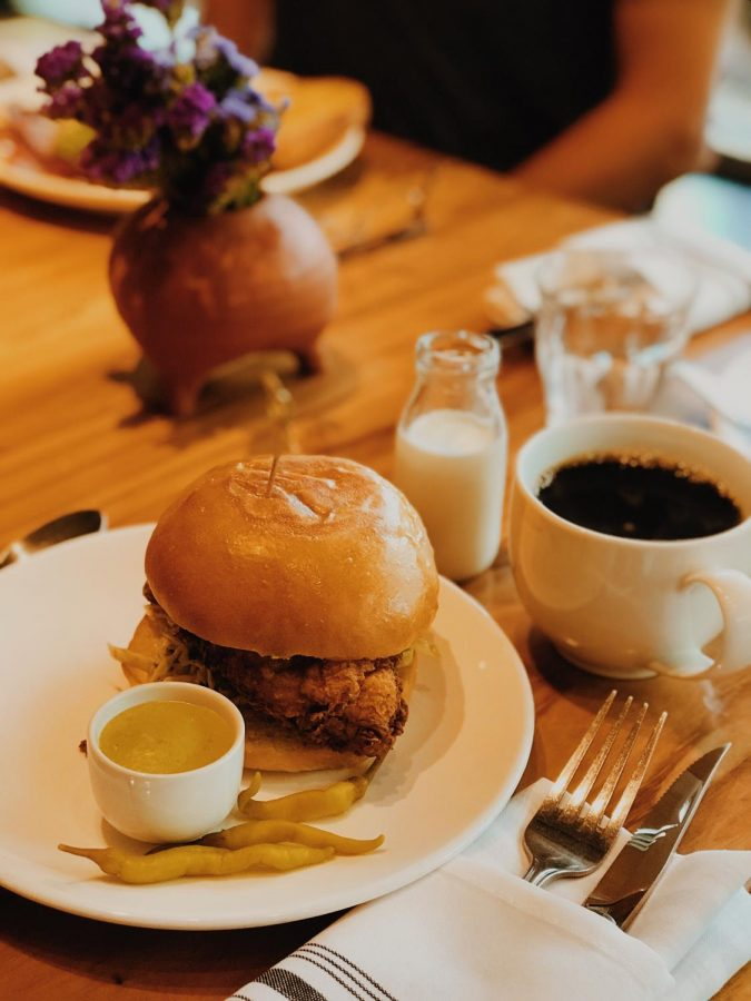 The Fried Chicken Sammie brings heat and immense flavor to a classic dish.
