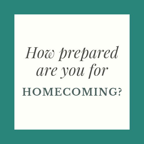 How prepared are you for Homecoming?
