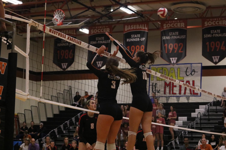 Varsity+Volleyball+Sweeps+Vista+Ridge+Rangers+3-0