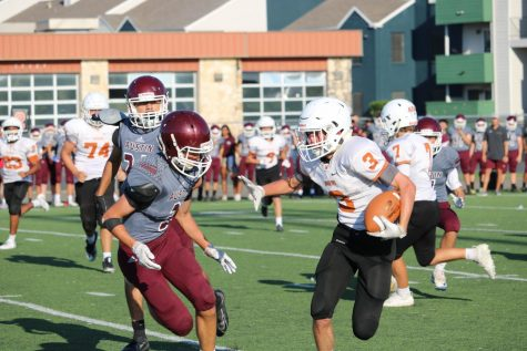 Freshman Football Takes Down Austin Maroons 24-20