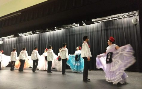 Alma Mexicana Ballet Folklorico Performs During Lunch