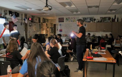Mr. Chalk's Students Recreate '1984' Style Interrogation