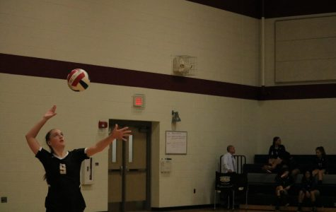 JV White Volleyball Crushes Hendrickson 2-0