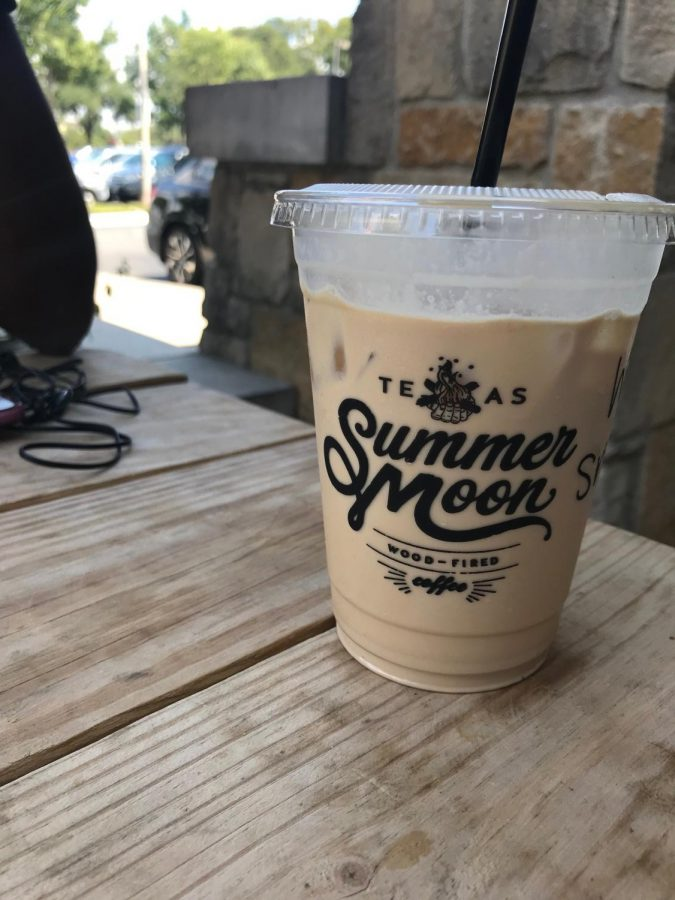 The Wintermoon Coffee, with Moon Milk, was in a cup that featured Summer Moons signature logo.
