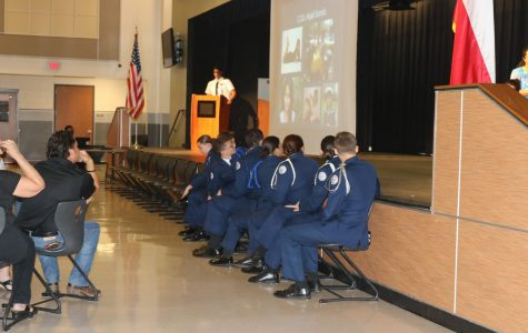 GALLERY: JROTC Seniors are Recognized in Tap In Ceremony