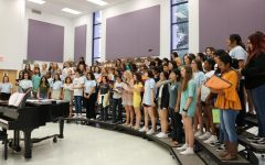 Choir Starts the Year on a High Note at Choir Camp