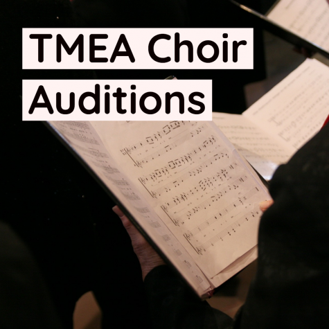 Choir Members Audition for the Texas Music Educators Association