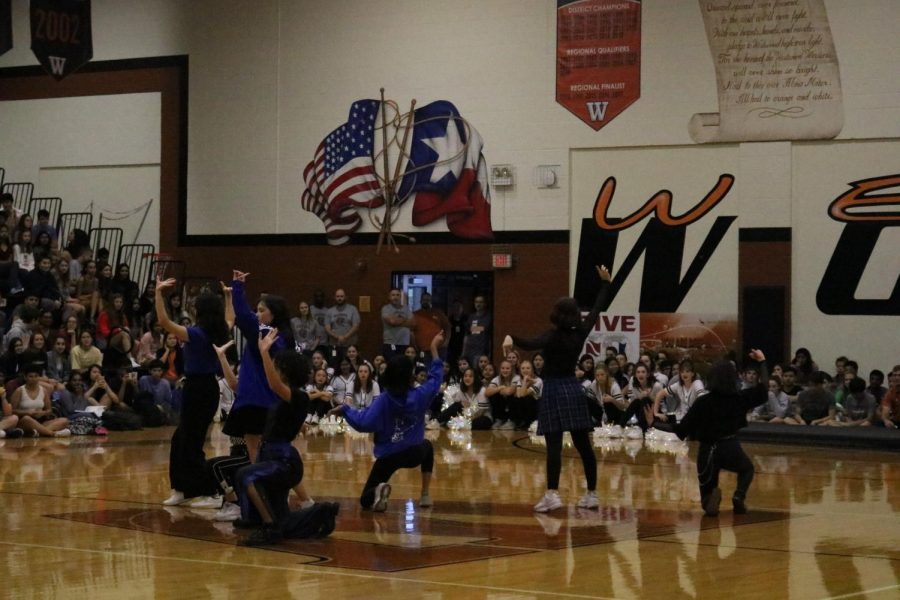 The K-pop club made their first pep rally performance of the year exciting the crowd. They gave a great performance and received great feedback from the crowd with lots of cheers.
