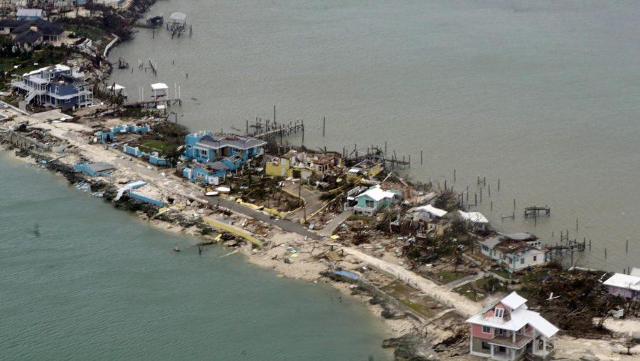 Hurricane Dorian leveled homes on the previously peaceful coast of the Bahamas.