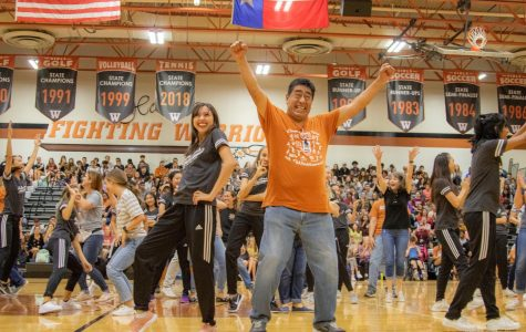 Students Attend Second Pep Rally of Year
