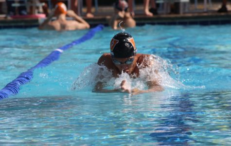 Swim Team Hosts Orange and Black Meet
