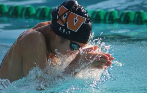 GALLERY: Swim Team Faces Off Against Round Rock Dragons in District 11 Opener