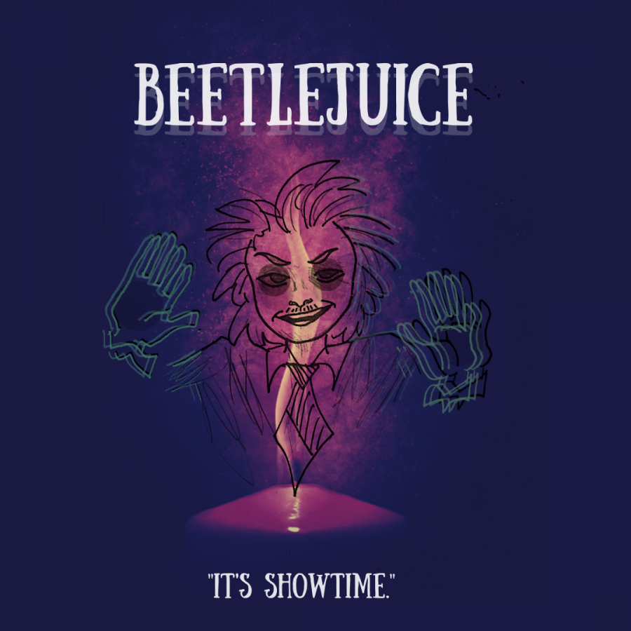 %27Beetlejuice%27+might+not+be+animated+like+many+of+Tim+Burton%27s+other+Halloween+movies%2C+but+it+still+shows+off+Burton%27s+peculiar+creativity+and+dark+humor.+Graphic+by+Yunoo+Kim