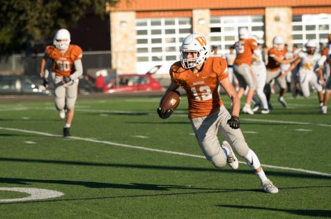GALLERY: JV Orange Football Drops Shootout to Stony Point 38-28