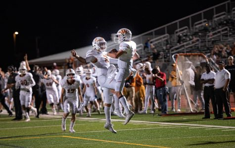 Varsity Football Falls in District Showdown vs. Vandegrift 42-17